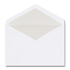 Fine Impressions Hi White Envelopes with Pearl Liner - Jumbo Inner Non Gummed (5 5/16 x 7 5/8) 70 lb Text Vellum - 50 per Box