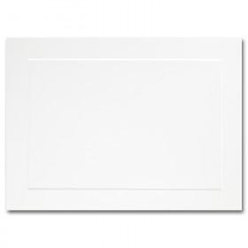 Fine Impressions Hi White Flat Panel Cards - A6 (4 5/8 x 6 1/4) 80 lb Cover Vellum - 250 per Box