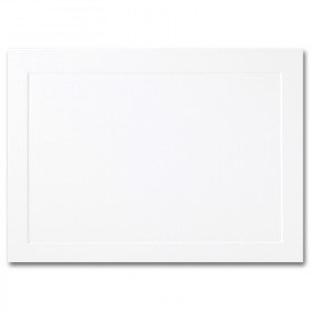 Fine Impressions Hi White Folded Panel Cards - A2 (4 1/4 x 5 1/2 folded) 80 lb Cover Vellum - 250 per Box