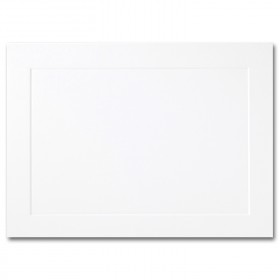 Fine Impressions Hi White Folded Panel Cards - A6 (4 5/8 x 6 1/4 folded) 80 lb Cover Vellum - 250 per Box