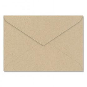 Fine Impressions Kraft Envelopes - Jumbo Outer (5 7/16 x 7 7/8) 80 lb Text Smooth - 250 per Box