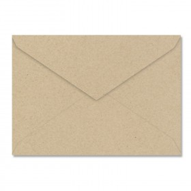 Fine Impressions Kraft Envelopes - No. 4 Baronial (3 5/8 x 5 1/8) 80 lb Text Smooth - 250 per Box