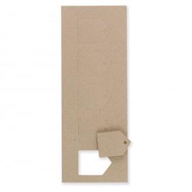 Fine Impressions Kraft Favor Mini Tags (1 1/2 x 2)100 lb Cover Smooth - 250 per Box