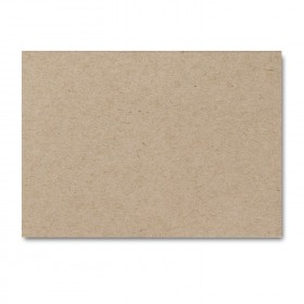 Fine Impressions Kraft Flat Cards - A1 (4 7/8 x 3 1/2) 100 lb Cover Smooth - 250 per Box
