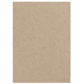 Fine Impressions Kraft Flat Invitations - Jumbo (5 1/8 x 7 1/4) 100 lb Cover Smooth - 250 per Box