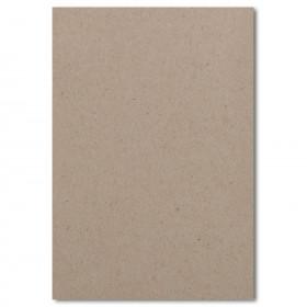 Fine Impressions Kraft Flat Top Layer Invitations - Jumbo (4 7/8 x 7) 100 lb Cover Smooth - 250 per Box
