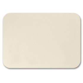 Fine Impressions Rounded Corners Ecru Shimmer Flat Cards - A1 (3 1/2 x 4 7/8) 105 lb Cover Smooth - 50 per Box