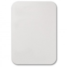 Fine Impressions Rounded Corners White Shimmer Flat Invitations - Tiffany (5 1/2 x 7 3/4) 105 lb Cover Smooth - 50 per Box
