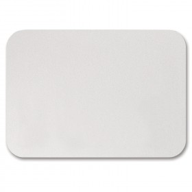 Fine Impressions Rounded Corners White Shimmer Folded Cards - A1 (3 1/2 x 4 7/8 folded) 105 lb Cover Smooth - 50 per Box
