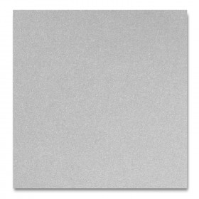 Fine Impressions Silver Shimmer Enclosure Cards - (4 7/8 x 5) 105 lb Cover Smooth - 50 per Box