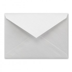 Fine Impressions Silver Shimmer Envelopes - No. 4 Baronial (3 5/8 x 5 1/8) 80 lb Text Smooth - 50 per Box