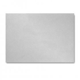 Fine Impressions Silver Shimmer Folded Cards - A1 (4 7/8 x 3 1/2 folded) 105 lb Cover Smooth - 50 per Box