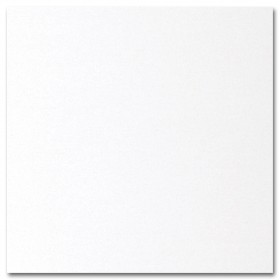 Fine Impressions White Shimmer Enclosure Cards - (4 7/8 x 5) 105 lb Cover Smooth - 50 per Box