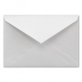 Fine Impressions White Shimmer Envelopes - Jumbo Inner Non Gummed (5 5/16 x 7 5/8) 80 lb Text Smooth - 50 per Box