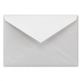 Fine Impressions White Shimmer Envelopes - Jumbo Inner Non Gummed (5 5/16 x 7 5/8) 80 lb Text Smooth - 50 per Box
