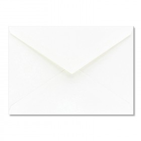 Fine Impressions White Shimmer Envelopes - No. 4 Baronial (3 5/8 x 5 1/8) 80 lb Text Smooth - 50 per Box