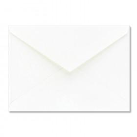 Fine Impressions White Shimmer Envelopes - No. 4 Baronial (3 5/8 x 5 1/8) 80 lb Text Smooth - 50 per Box