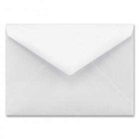 Fine Impressions White Shimmer Envelopes - Tiffany Inner Non Gummed (5 3/4 x 8) 80 lb Text Smooth - 50 per Box