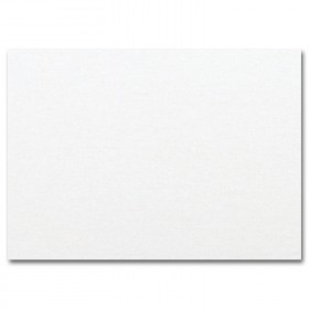 Fine Impressions White Shimmer Flat Cards - A1 (3 1/2 x 4 7/8) 105 lb Cover Smooth - 50 per Box