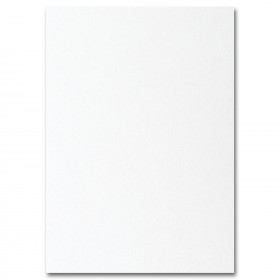 Fine Impressions White Shimmer Flat Invitations - Jumbo (5 1/8 x 7 1/4) 105 lb Cover Smooth - 50 per Box