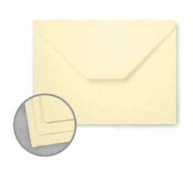 Arturo Buttercream Envelopes - Arturo Medium Greeting (4.72 x 7.09) 81 lb Text Felt 100 per Box