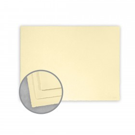 Arturo Buttercream Flat Cards - Arturo Petite Enclosure Single (2 1/2 x 3 3/4) 96 lb Cover Felt 100 per Box