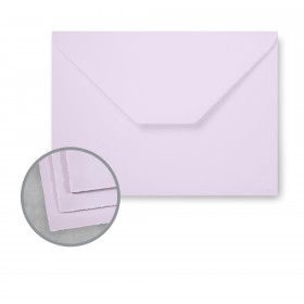 Arturo Lavender Envelopes - Arturo Large Invitation w/o Glue (6.13 x 8.38) 81 lb Text Felt 100 per Box