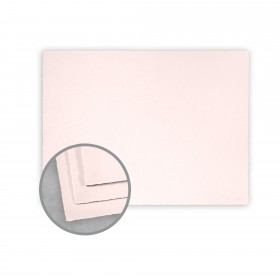 Arturo Pink Flat Cards - Arturo Medium Greeting Single (6.69 x 4.53) 96 lb Cover Felt 100 per Box