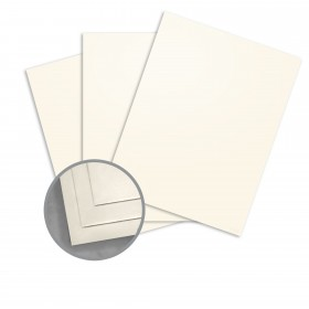 Arturo Soft White Paper - 8.25 x 11.66 in 81 lb Text Felt 100 per Package