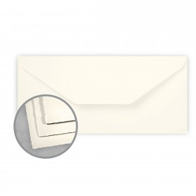 Arturo Soft White Envelopes - Arturo Tea Length (4 3/8 x 9 3/8) 81 lb Text Felt 100 per Box