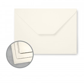 Arturo Soft White Envelopes - Arturo X-Large Invitation (6.38 x 8.63) 81 lb Text Felt 100 per Box