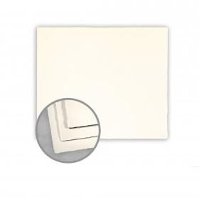 Arturo Soft White Flat Cards - Arturo Petite Square Place Card (3.937 x 3.937) 96 lb Cover Felt 100 per Box