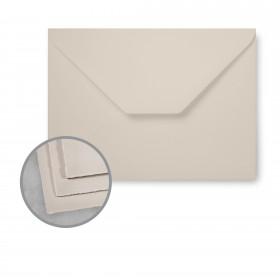 Arturo Stone Gray Envelopes - Arturo Small Reply (3.54 x 5.51) 81 lb Text Felt 100 per Box