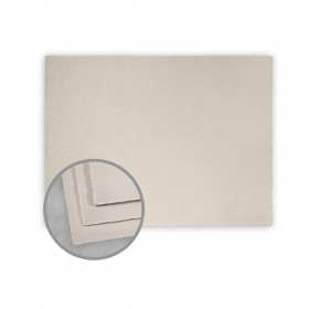 Arturo Stone Gray Flat Cards - Arturo Large Invitation Single (7.88 x 5.88) 96 lb Cover Felt 100 per Box