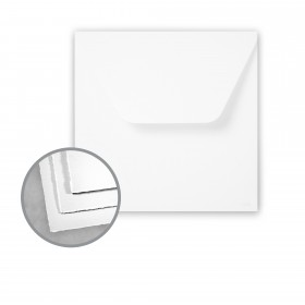 Arturo Soft White Envelopes - Arturo 7 1/4 Square Inner (7 1/4 x 7 1/4) 81 lb Text Felt 100 per Box
