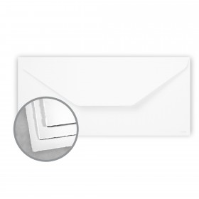 Arturo White Envelopes - Arturo Tea Length (4 3/8 x 9 3/8) 81 lb Text Felt 100 per Box