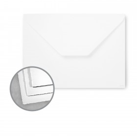 Arturo White Envelopes - Arturo X-Large Invitation (6.38 x 8.63) 81 lb Text Felt 100 per Box