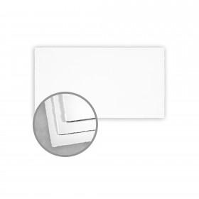 Arturo White Flat Cards - Arturo Monarch (3 7/8 x 7 1/4) 96 lb Cover Felt 100 per Box