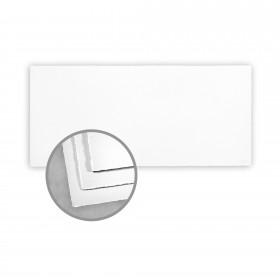 Arturo White Flat Cards - Arturo Tea Length (4 1/8 x 9 1/8) 96 lb Cover Felt 100 per Box