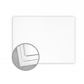 Arturo White Flat Cards - Arturo Small Reply Single (5.12 x 3.35) 96 lb Cover Felt 100 per Box
