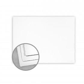 Arturo White Flat Cards - Arturo Medium Greeting Single (6.69 x 4.53) 96 lb Cover Felt 100 per Box