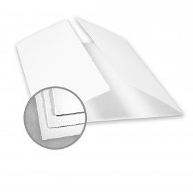 Arturo White Folded Cards - Arturo Large Gate Fold (7.88 x 12.0675) 96 lb Cover Felt 100 per Box