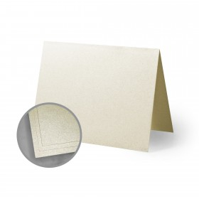 ASPIRE Petallics Autumn Hay Folded Cards - A1 (3 1/2 x 4 7/8 folded) 98 lb Cover Metallic C/2S 400 per Carton