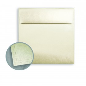 ASPIRE Petallics Autumn Hay Envelopes - No. 6 1/2 Square (6 1/2 x 6 1/2) 80 lb Text Metallic C/2S  250 per Box
