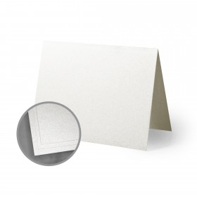 ASPIRE Petallics Beargrass Folded Cards - A1 (3 1/2 x 4 7/8 folded) 98 lb Cover Metallic C/2S 30% Recycled 400 per Carton