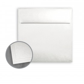 ASPIRE Petallics Beargrass Envelopes - No. 7 1/2 Square (7 1/2 x 7 1/2) 80 lb Text Metallic C/2S 500 per Box