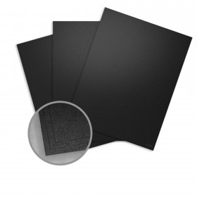 Petallics Black Ore Paper - 12 x 12 in 81 lb Text Metallic C/2S 25 per Package
