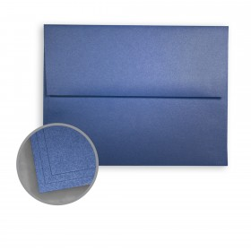 ASPIRE Petallics Blue Star Envelopes - A6 (4 3/4 x 6 1/2) 81 lb Text Metallic C/2S 250 per Box