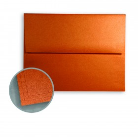 ASPIRE Petallics Copper Ore Envelopes - A2 (4 3/8 x 5 3/4) 80 lb Text Metallic C/2S  250 per Box