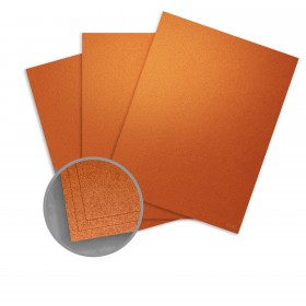 ASPIRE Petallics Copper Ore Card Stock - 26 x 40 in 98 lb Cover Metallic C/2S 300 per Carton